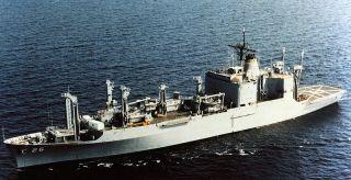 USS Kilauea AE 26 Westpac I O Deployment Cruise Book Year Log 1979 80