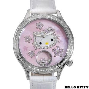 Kimora Lee Simmons Hello Kitty Sapphire Leather Watch Model