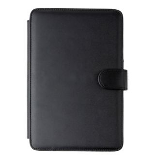 For  Kindle 3 3G WiFi Black Leather Cover Case by Fosmon