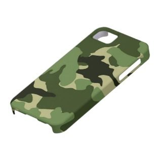Green Camo Military iPhone 5 Barely There Cases iPhone 5 Cases
