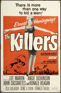 Killers 1964 Original U s One Sheet Movie Poster