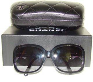 Chanel Black White Bow
