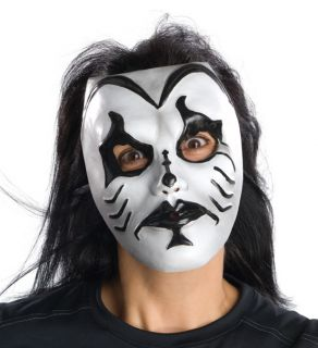 Day of The Dead Mask Black White Clown Adult Men Male Full Face New