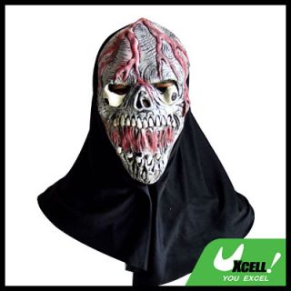 Horrifying Skull Killer Bloody Latex Halloween Mask
