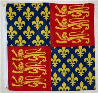 Medieval King Edward III 3 x 3 Wall Banner Flag New