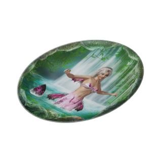 Pink Mermaid Plate