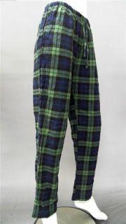 Kim Rogers Ladies Womens s Sleep Pant Blue Plaid Intimates Sleepwear