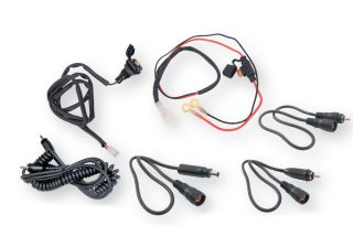 Kimpex Snowmobile Helmet DC Electric Power Cord Kit Universal RCA & DC
