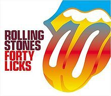 The Rolling Stones Forty Licks CD Jagger Richards Beatles Classic Rock
