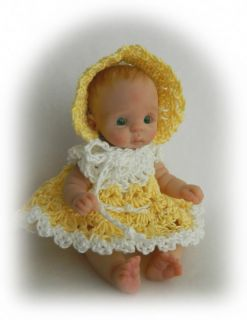 ღ♥ღ♥ooak Hand Sculpted Mini Artist Polymer Clay Baby Art