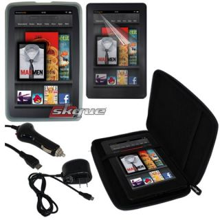 Accessory for  Kindle Fire 7Eva Case Bag Clear Skin Car Wall
