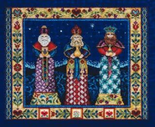three kings cross stitch pattern designer jim shore publisher mill