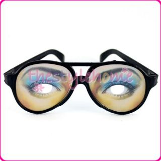 Pair Female Play Trick Joke Funny Glasses Party Halloween Favors Gag