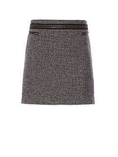 Kookai Tweed mini skirt Grey