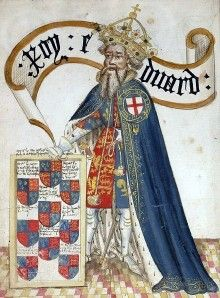 Medieval Middle Ages King Edward III 3 x 5 Fabric Wall Banner Flag