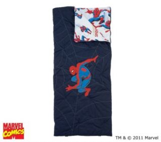 Pottery Barn Kids Spiderman Sleeping Bag Super Hero