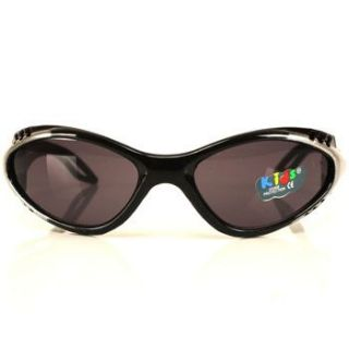 Kids Child 3 7 Sporty Sunglasses Sun UV400 Boys Black
