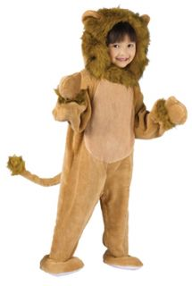 Cuddly Lion Toddler Kids Halloween Costume Size 3T 4T