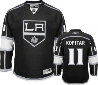 Kopitar Jersey Reebok Black 11 Los Angeles Kings Premier Jersey