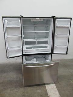 KitchenAid 36 inch Stainless Steel French Door Trio Refrigerator
