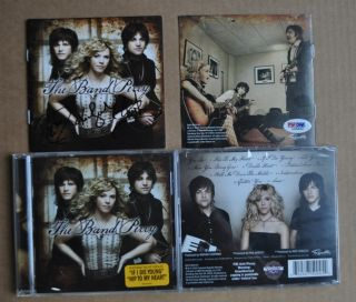 The Band Perry Hand Signed Autographed by All 3 CD PSA DNA