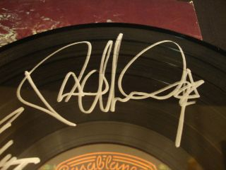 Kiss Signed Autograph Love Gun Vinyl Gene Simmons Stanley Criss Ace