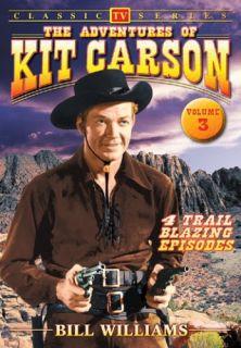 Adventures of Kit Carson Vol 3 New DVD