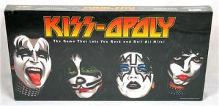 2003 Kiss Opoly Kissopoly Board Game Factory SEALED New