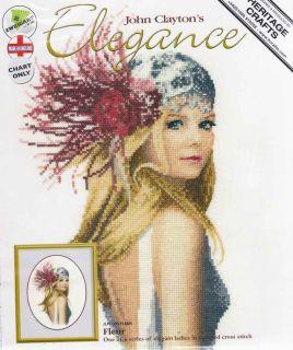 Heritage John Clayton Counted Cross Stitch Chart Pattern Fleur Sale