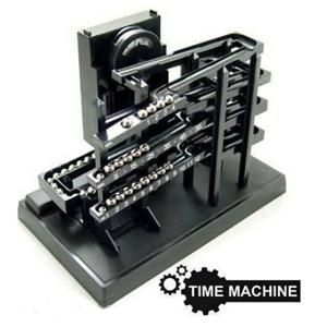 New Kinetic Clock Rolling Ball Box Time Machine Keeper Case Can You