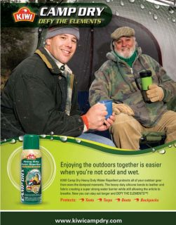 Kiwi Select Camp Dry Heavy Duty Water Repellent 12 Oz