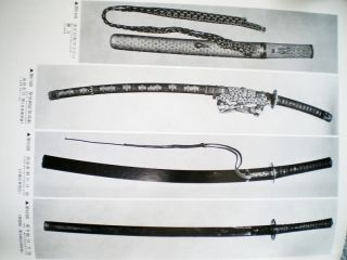 SHIPPING! Tsuba Sword Accouterment Edo & Muromachi period Klammer Book