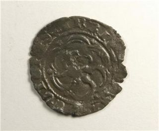 Medieval 15th Century Spanish COIN King Henry IV Castile & Leon  c1450