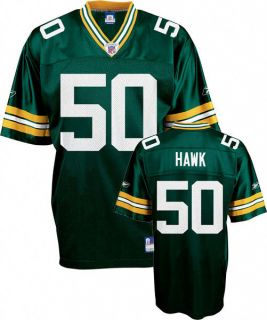 Green Bay Packers NFL Reebok Replica Youth Jersey AJ Hawk