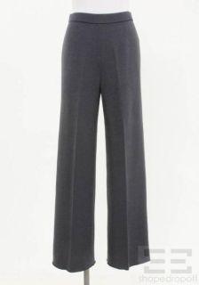 St John Collection Dark Grey Knit Pants Size 6