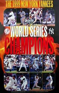 New York Yankees 1999 World Series Champions Poster