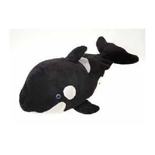 Fiesta Toys Plush 19 Orca Whale Peek A Boo Pillow New