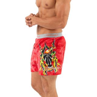 Ed Hardy Coral Tattoo Invasion Knit Boxer