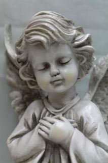 Kneeling Praying Angel Cherub Memorial Garden Statue