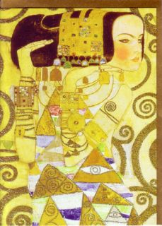 Gustav Klimt Art Nouveau Greeting Cards 2009 Assortment of 8 New