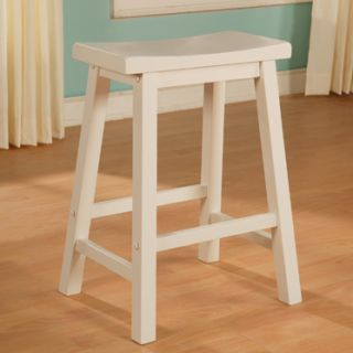 WHITE FRENCH COUNTRY TUSCAN COUNTER HEIGHT KITCHEN CHAIR BAR STOOLS