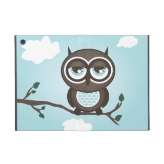 Cute Blue Owl iPad Mini Powis Case iPad Mini Case