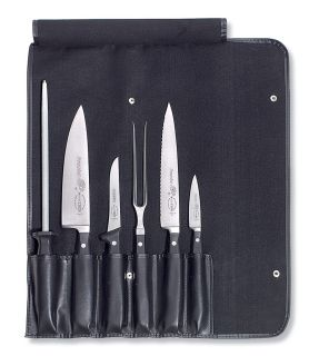 Dick 6 Piece Professional Knife Set with Roll Bag
