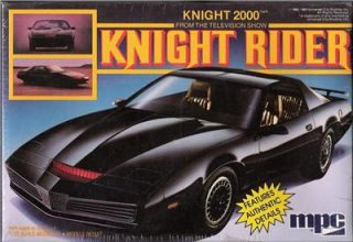 1983 MIB Knight Rider 2000 KITT Model Trans Am AMT MPC Mint KARR 1/25