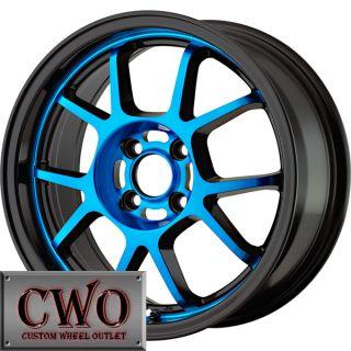 15 Black Konig Foil Wheels Rims 4x100 4 Lug Civic Mini Miata Cobalt XB