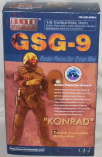 Box Elite Force 1 6 Scale 12 Action Figure GSG 9 Konrad 34220