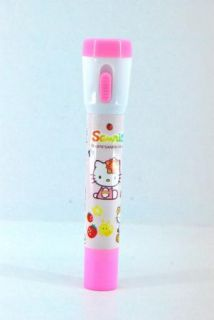 in 1 Torch Light Hello Kitty Ball Point Pen abl 38