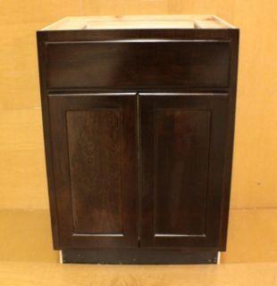 Kraftmaid Cherr Bathroom Vanity Sink Base Cabinet 24 Granite Tops in