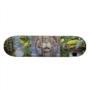 Skateboard Zen Garden by Adela Stefanov