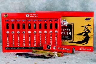 Korean Honeyed Red Ginseng Roots 10 Pcs Gift Set 220g Red Ginseng 100